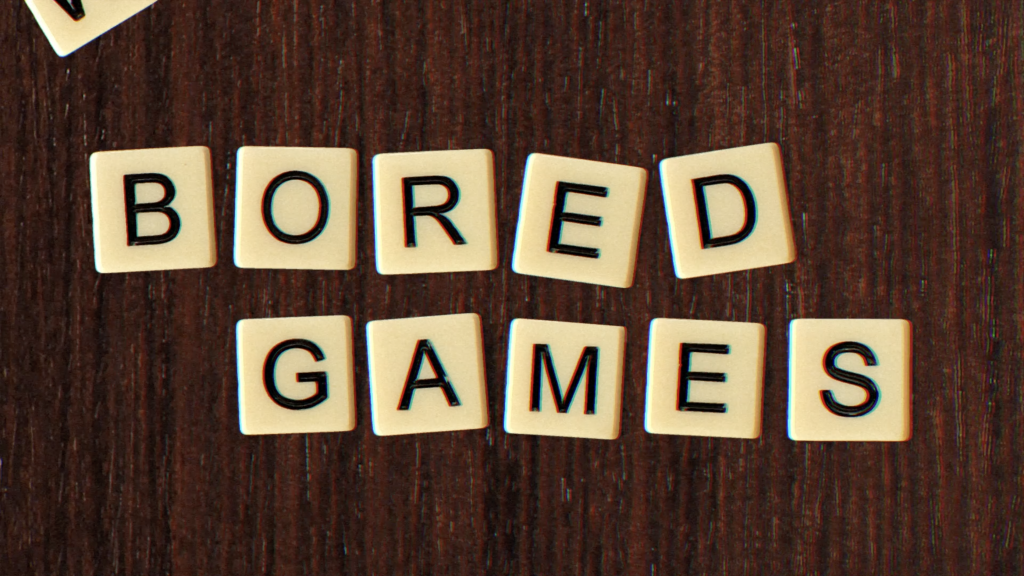 Still from the Bananagrams promotional video.